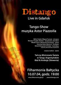 Distango live in Gdańsk